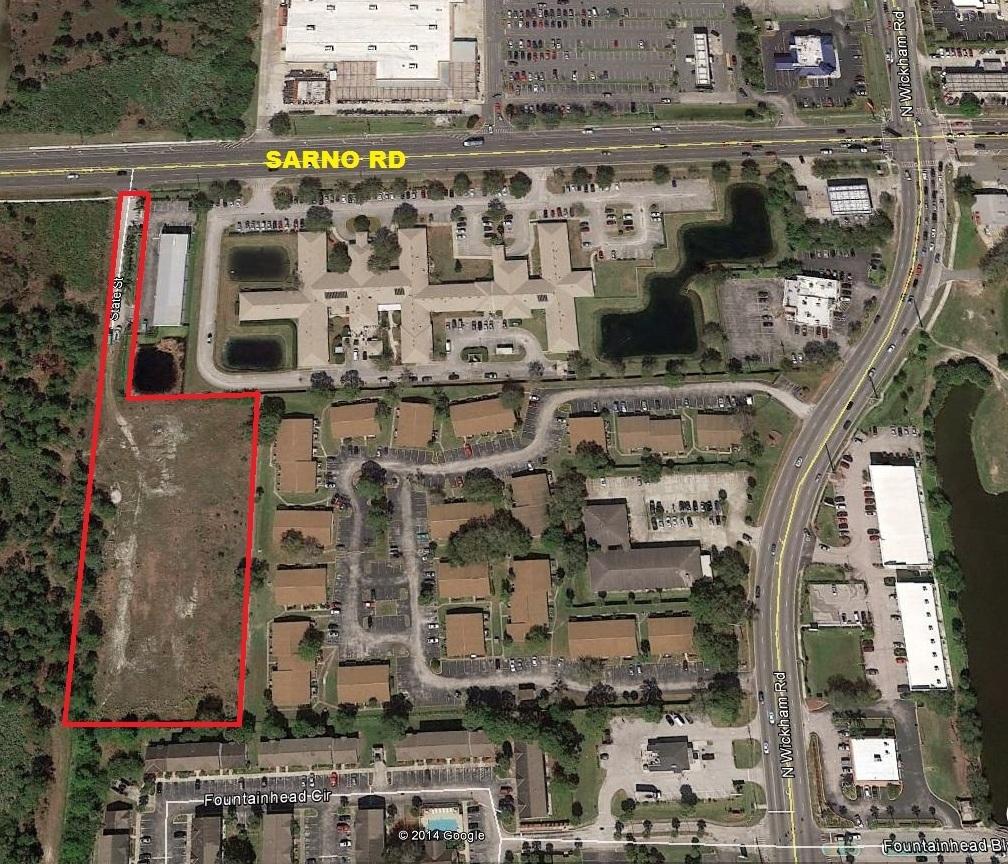 2.69 Acres – Proposed Mini Storage Site