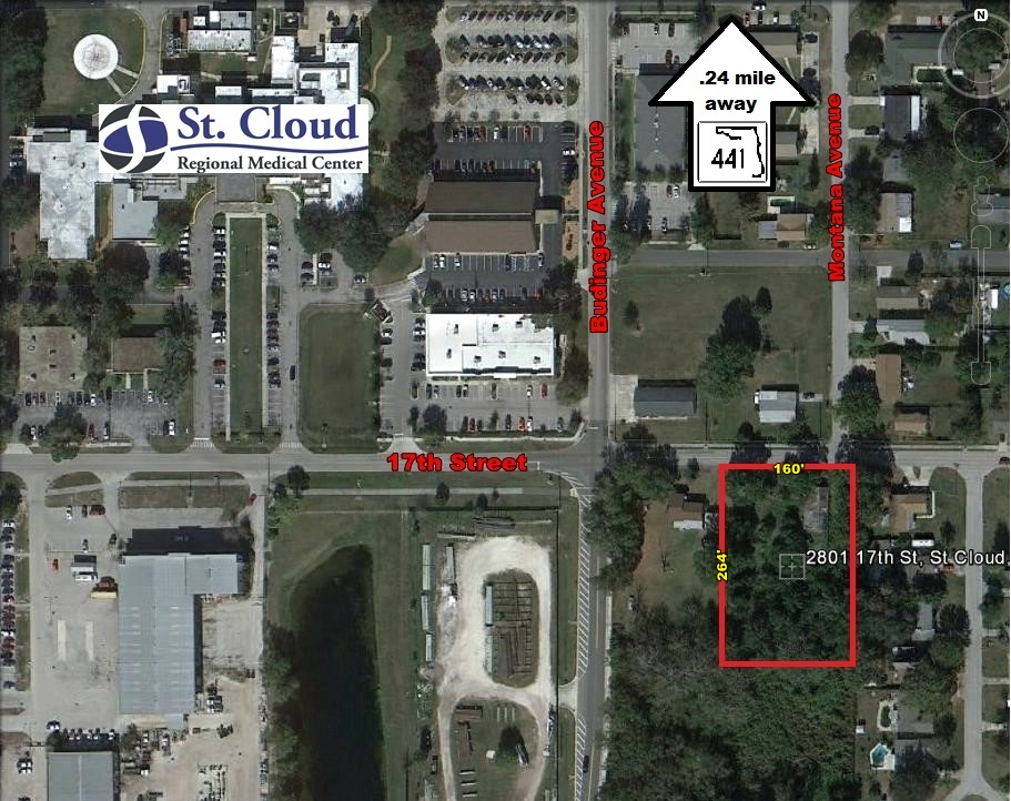 .97+/- Acres for Sale – Medical Land Site, St Cloud, FL