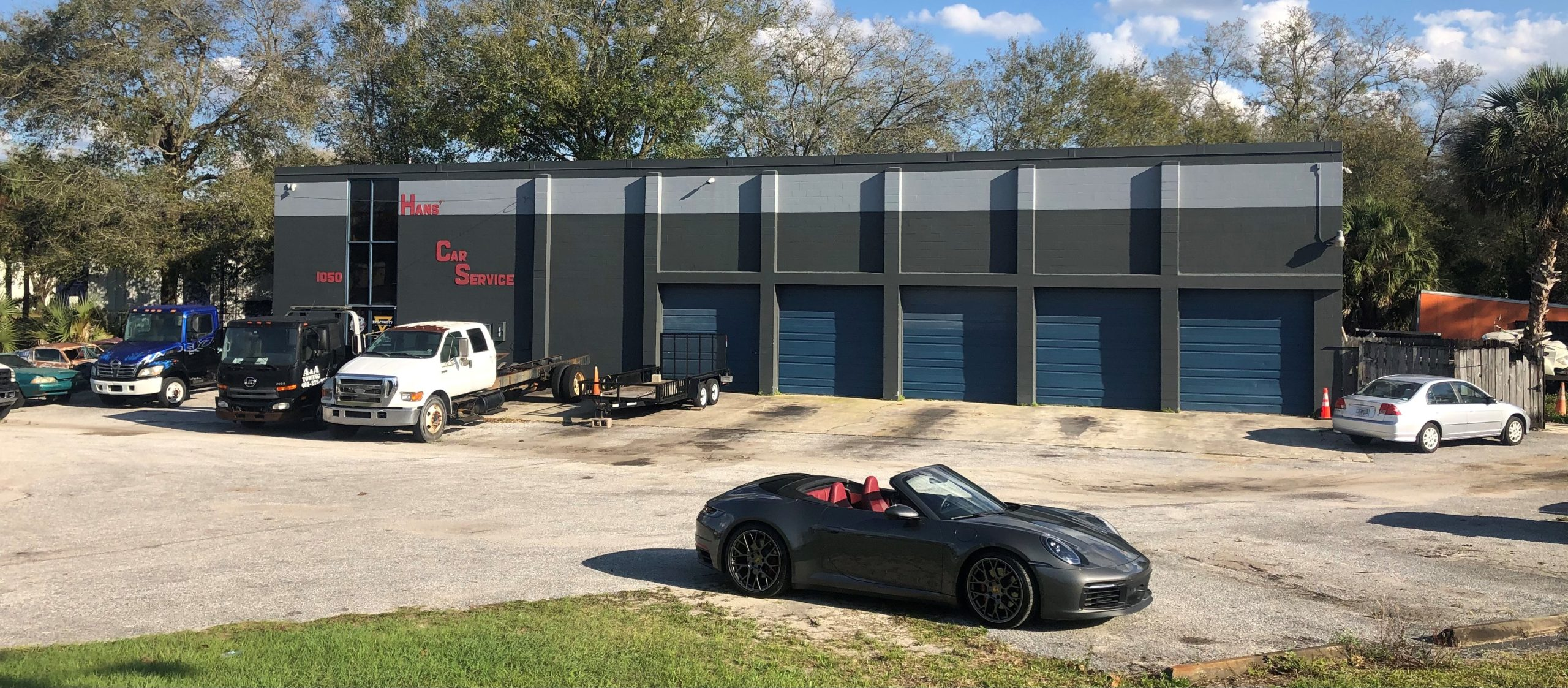 Auto Service/Warehouse with Outside Storage, Altamonte Springs