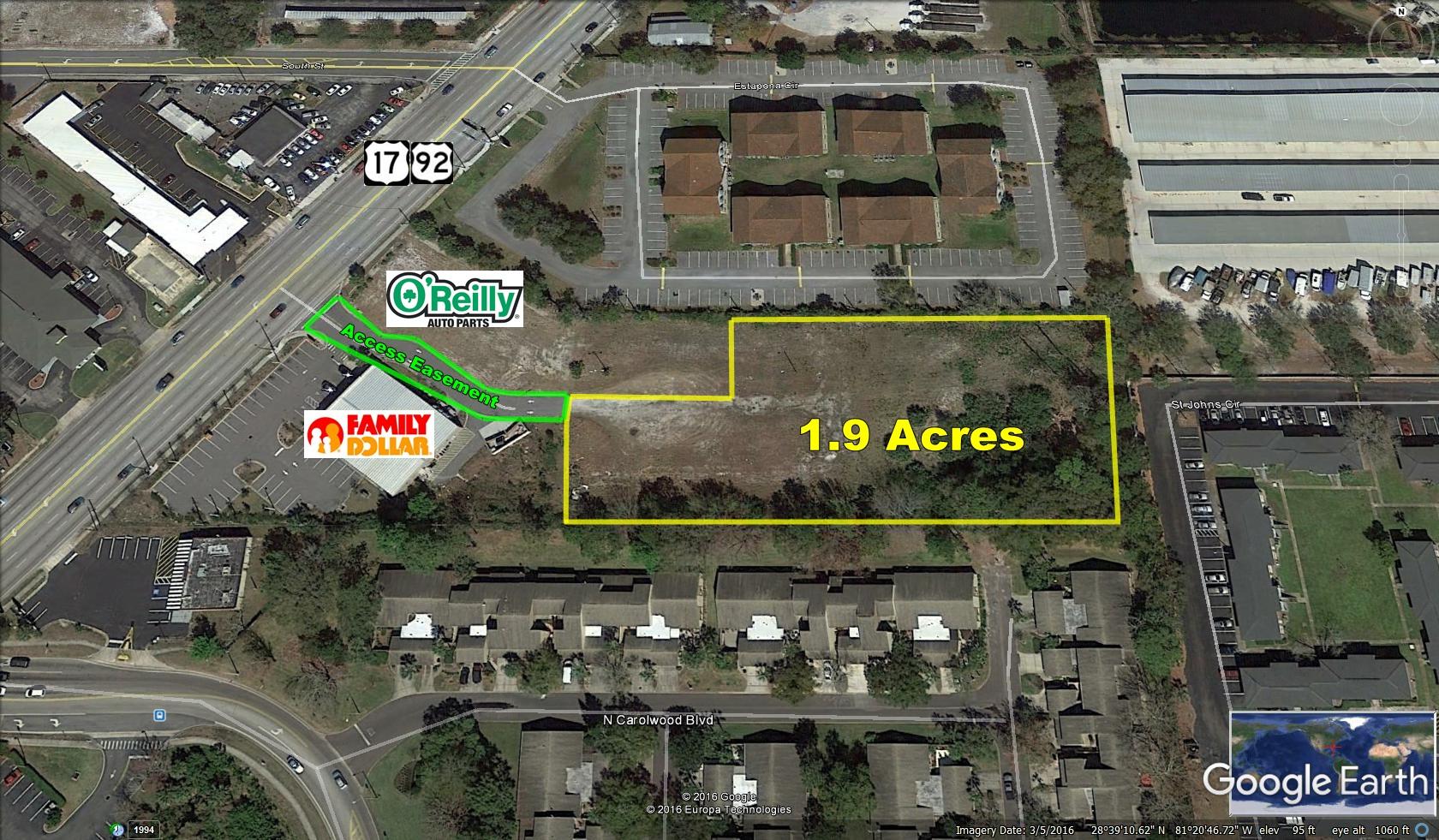 1.91 Commercial Acres, Fern Park, FL
