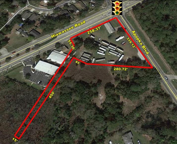 1.72 Acre Corner Development Site – Apopka