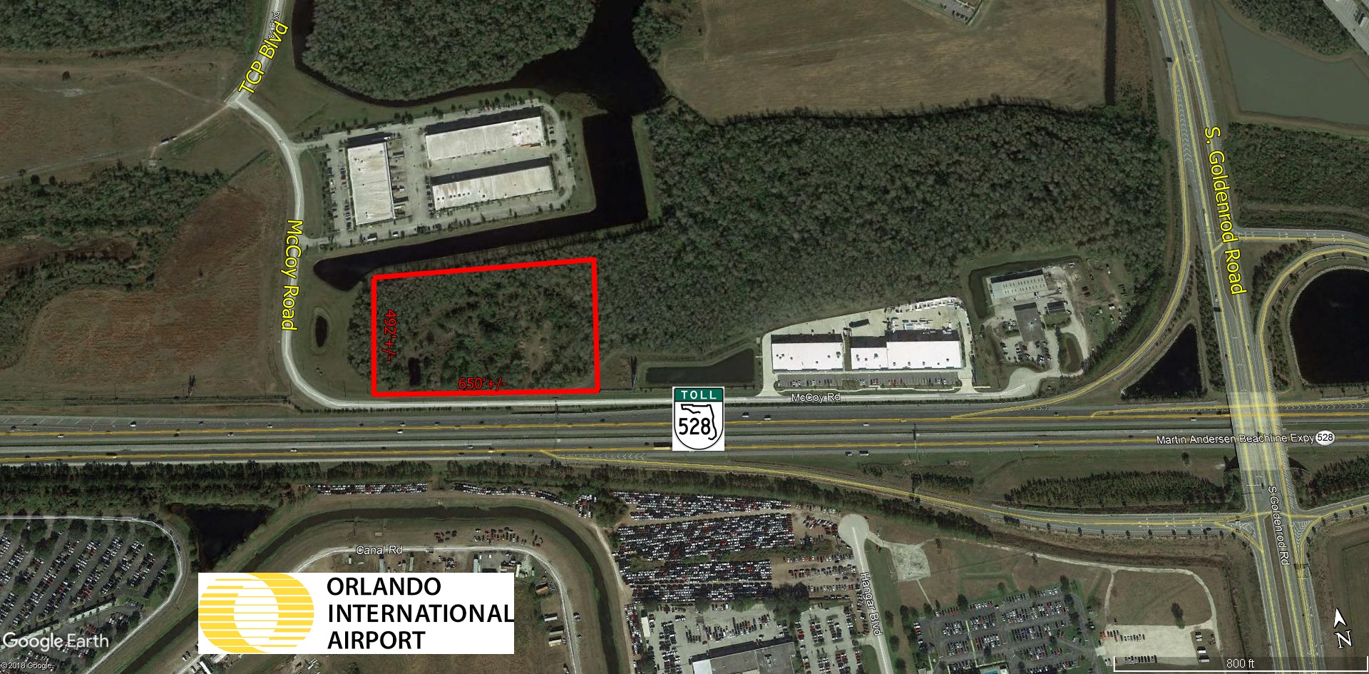 7.24 Acres Fronting 528 – Airport Acres Industrial Park