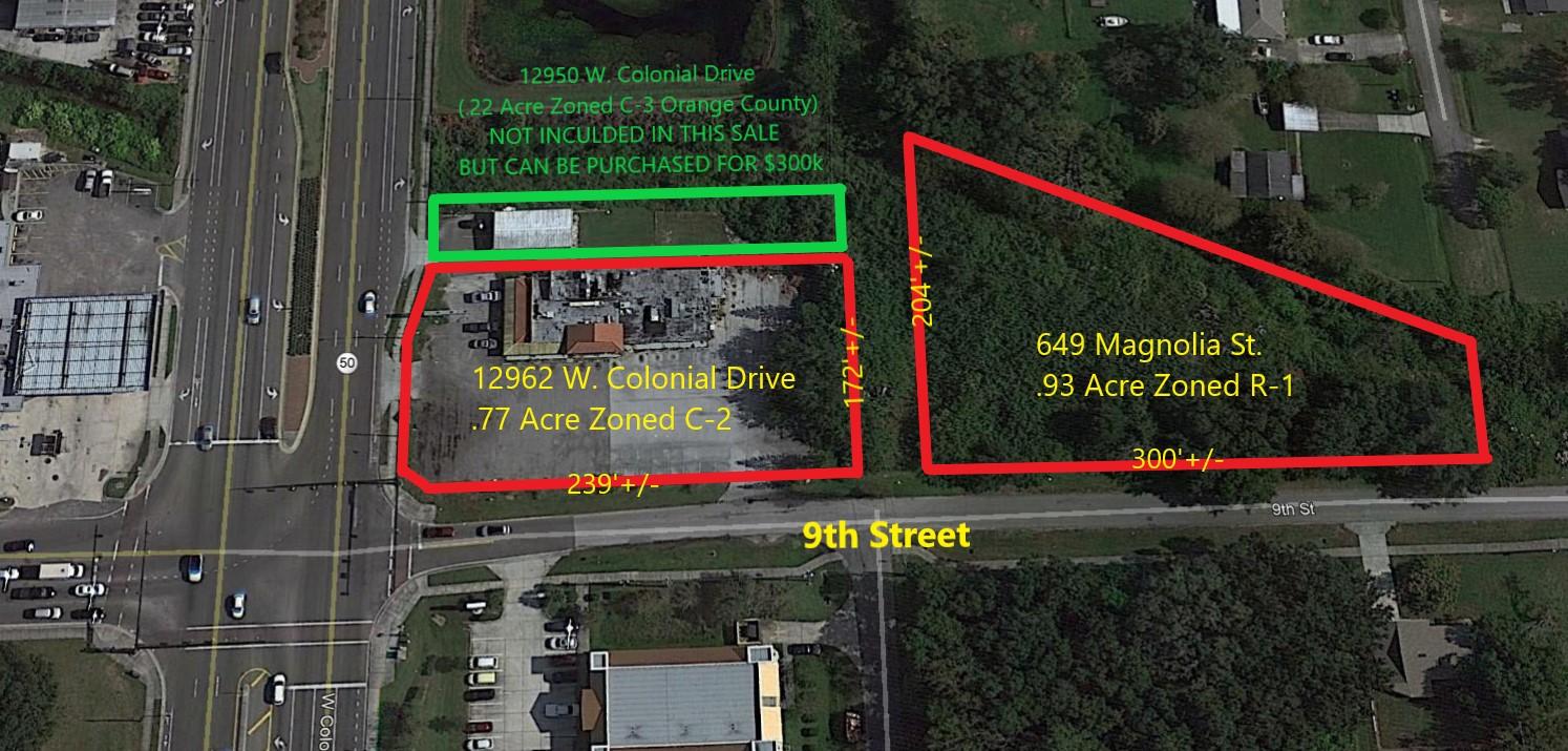 1.7 Acre Hard Corner Development Site