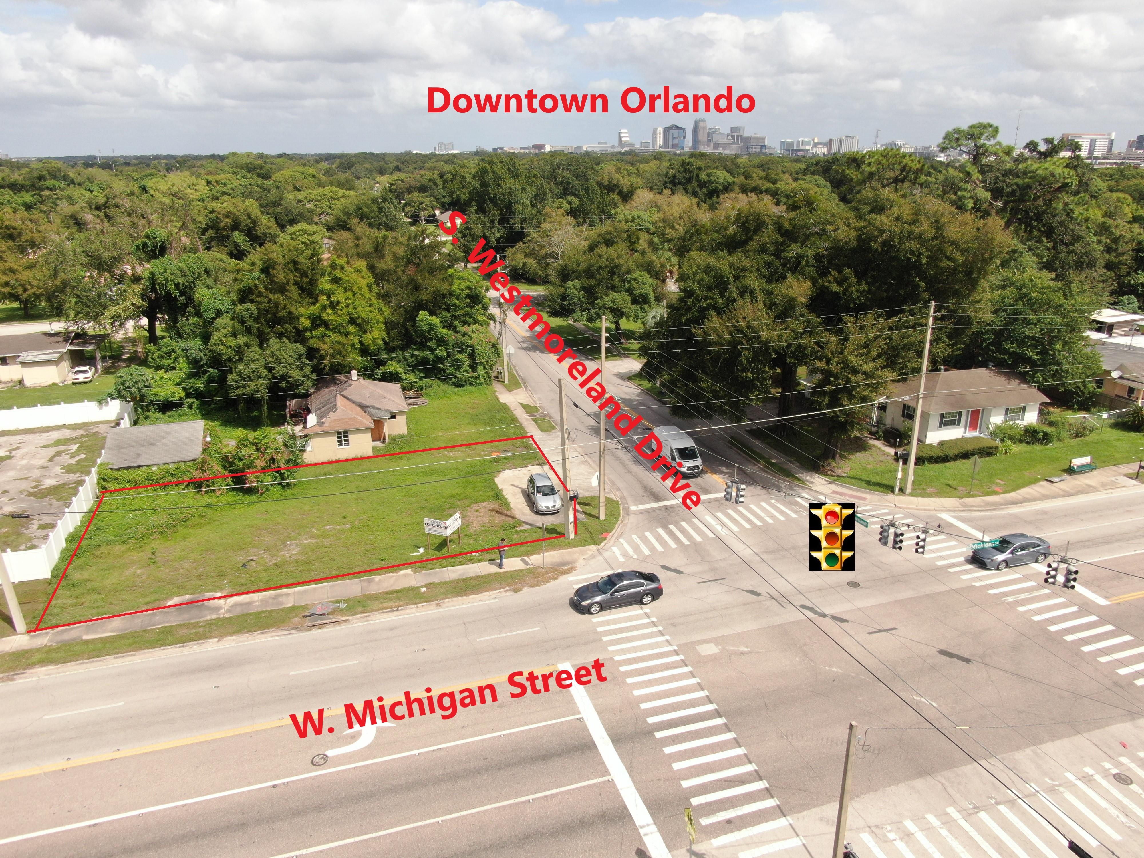 Hard Corner Development Site, Downtown Orlando