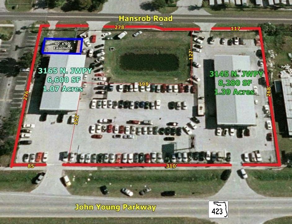 2 Freestanding Retail/Service Buildings